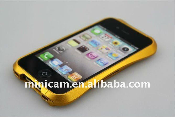 Deff Cleave aluminum bumper hard case for iphone 4