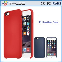Colorful ulra thin pu leather for iPhone 6 , for iphone 6 leather case
