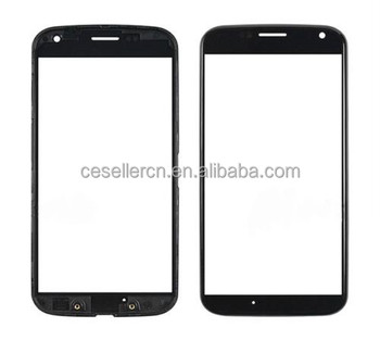 Replacement LCD Glass Screen Outer Lens Mobile For Motorola XT1060 XT1058