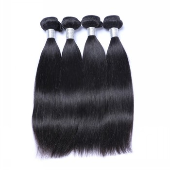 Free sample Big Human hair factory directly unprocessed grade 10a virgin hair goldleaf Brazilian hair