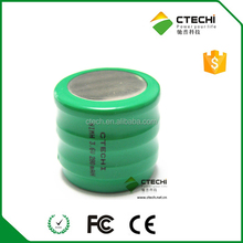 250H3A5H NIMH button battery pack 3.6v 280mah