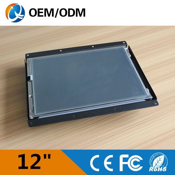 12 inch Waterproof touchscreen Industrial LCD Monitor