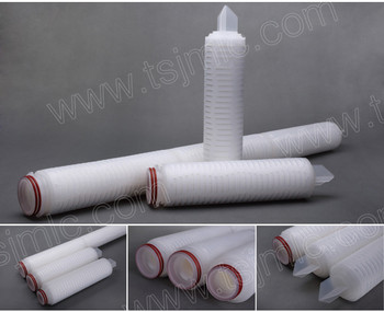 0.22um Micro cartridge filter PVDF liquid membrane for the biopharmaceutical industry