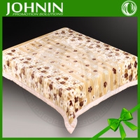Hot Sale Top Quality King Size Polyester Raschel Blanket