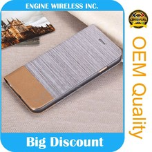china supply fur leather case for iphone 5 AAA quality
