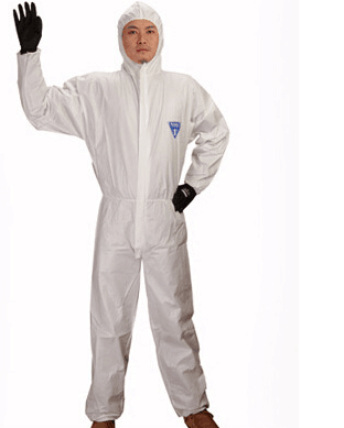 Low price cleanroom suit/disposable coverall/protective suit