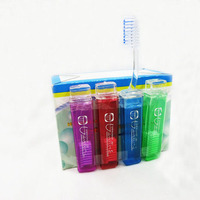 Portable Travel Size Foldable Adult Toothbrush