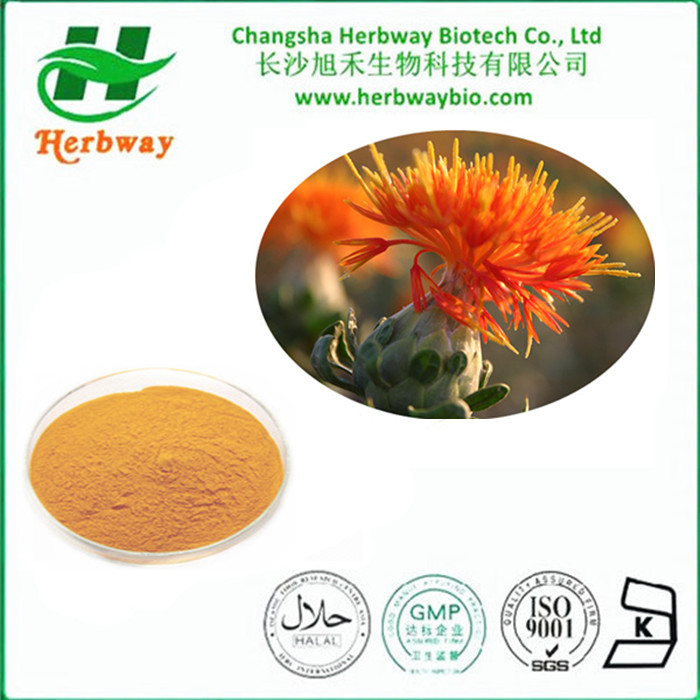 High Quality Natural Safflower Yellow Color Powder for sale