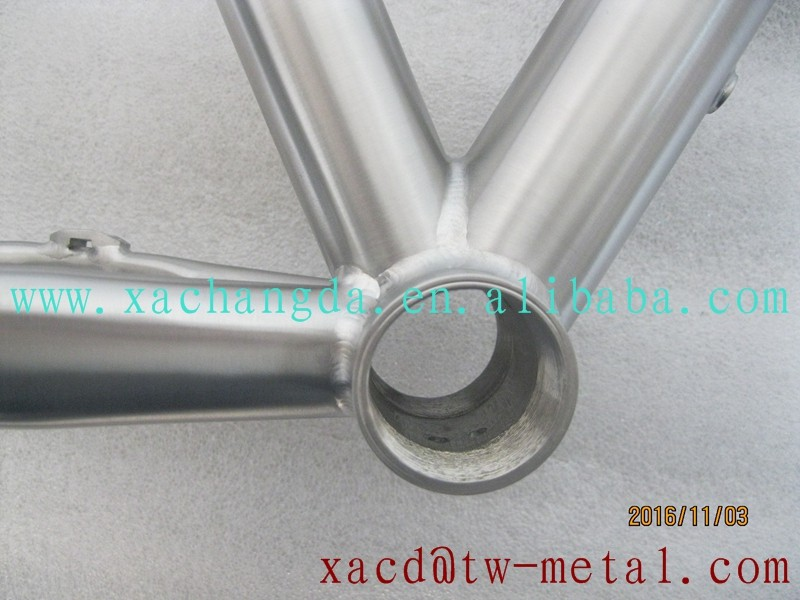 XACD made titanium MTB bike frame Ti mtb bike frame customized titanium bike frame
