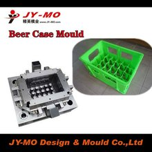 12 bottles beer crate mould plastic injection beer box mould