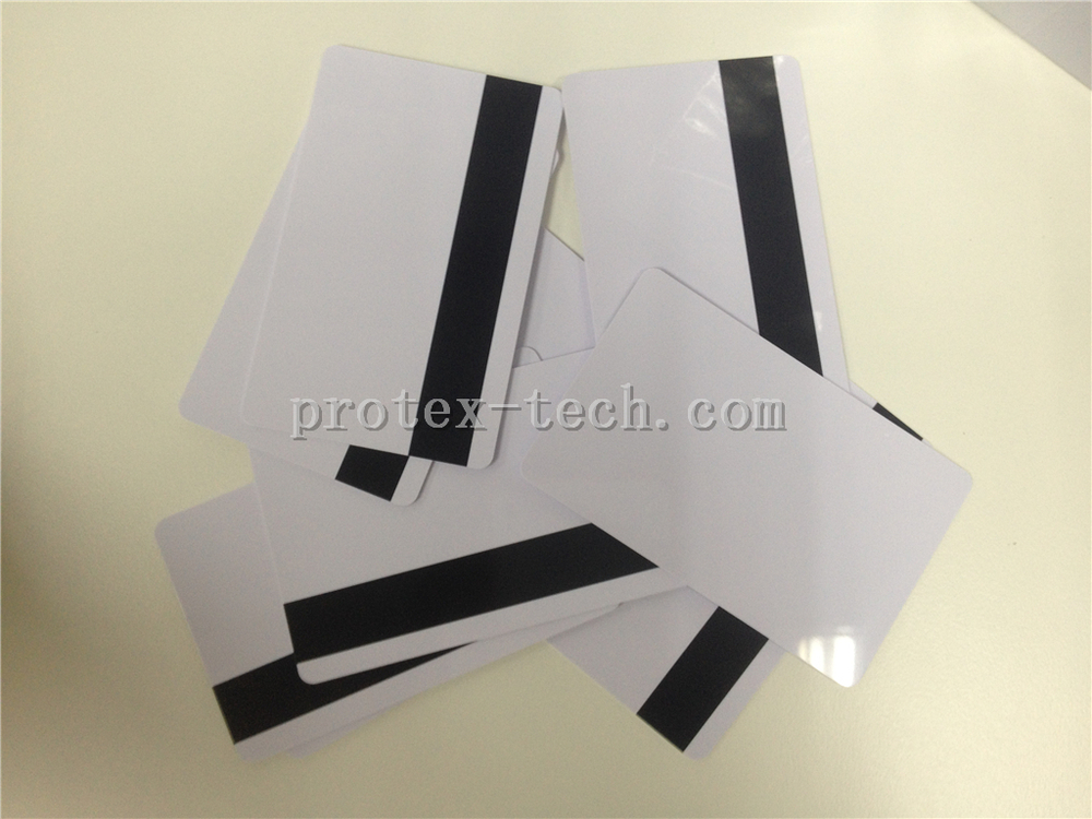 Factory price customized magnetic stripe card -2750Oe (250 pieces per pack)