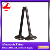 factory south asia engine valve motorcycle spare parts for shogun