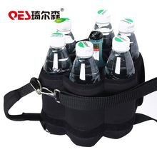 Promotion portable party drink carry insulation lining bottle holder cooler bag