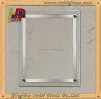 transparent clear glass picture frame glass wholesale with CE&ISO certificate