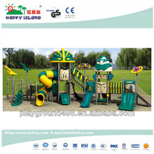Outside kids play structure playground equipment