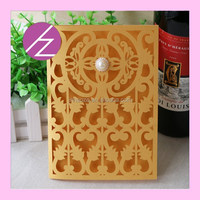 New Design China Tourist Invitation Card Greeting Card QJ-41