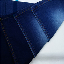 cotton spandex polyester washed denim fabric