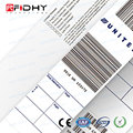 RFID Products Supplier Logo Printing Anti Collision Thermal Baggage Tags of Various Inlays
