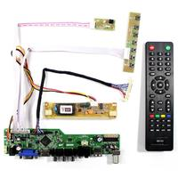 LCD Screen TV Controller board HDMI VGA AV USB AUDIO for 18.5inch LM185WH1 M185XW01 V2
