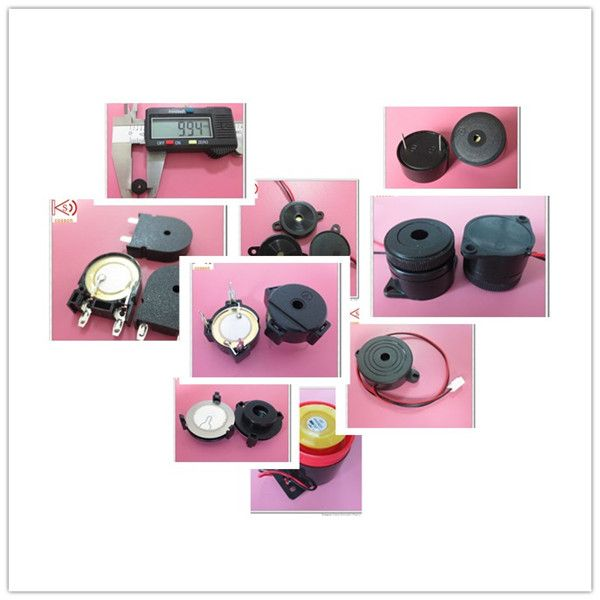 44mm piezo buzzer with remote control