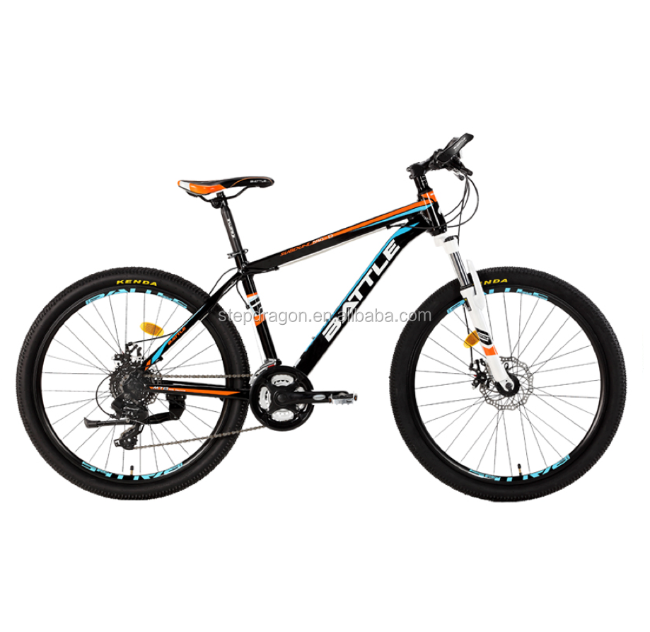 "Free Sample Fast drop Shipping Wholesale BMA 540-D 26"" Black MTB / Bike with Disk Brake"