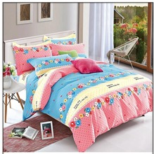 Cheap bed sheets royal quilt comforter cover bedding set