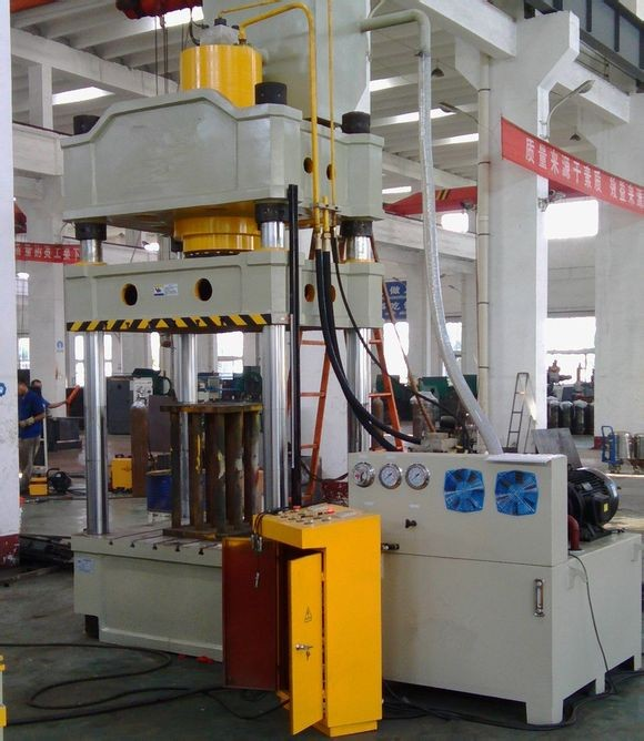 1000ton Four colum hydraulic press machine for stamping and embossing