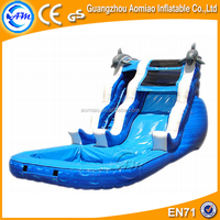 Cheap inflatable water slides pool slides for in ground pools for sale
