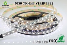White colour IP20 24v 12v smd led strip 5050 for wedding decoration