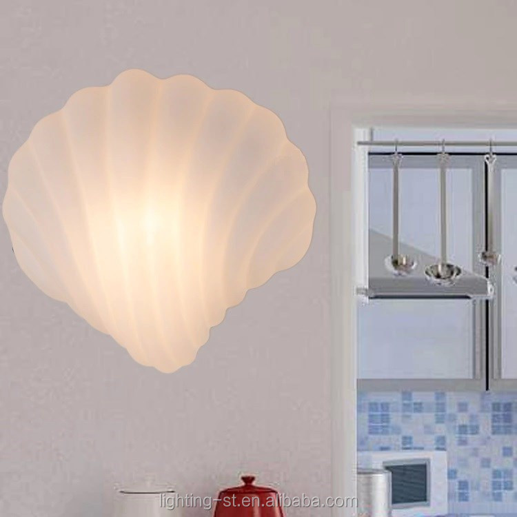 New Contemporary sea shell style glasscover Sconces Wall Light Ceiling Lamp(HYX758)