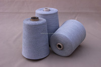 cotton/polyester/metal fiber blended yarn for sewing