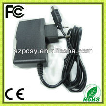 mini usb 5v 750ma charger with ROHS CE
