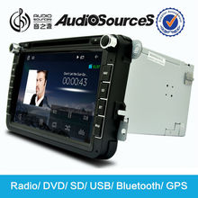 Audiosources 8 inch touch screen car radio gps for Skoda Octavia with canbus,MFD,RDS,BT,3G etc functions