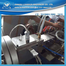 outdoor plastic PE WPC powder profile extrusion machine for pavilion,dustbin,fence,railing,bench,floor board