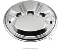 metal food use 5 compartment dinner plate for restaurant