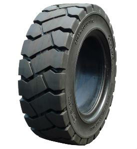 solid tyre in material handling equipment