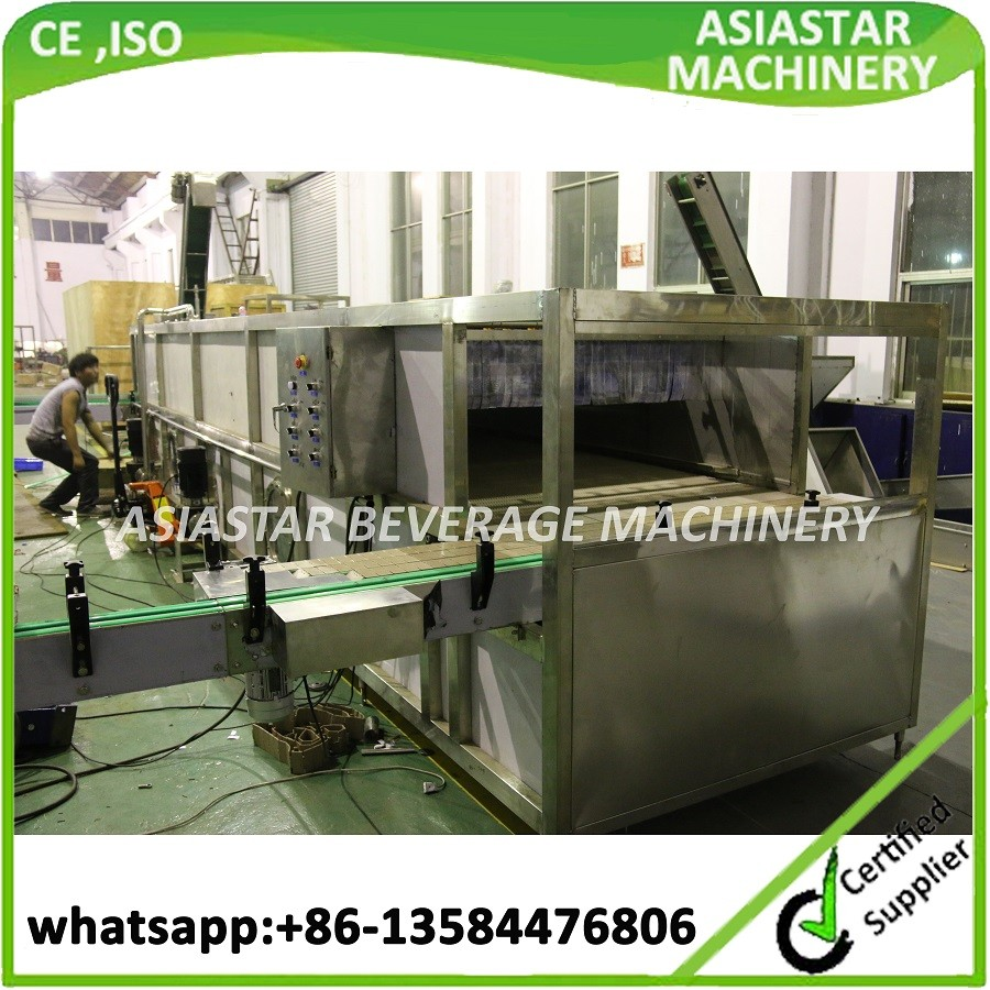 CE approved good price automatic bottle sterilizing machine