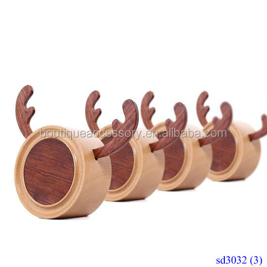 New Design Milu Deer Wooden Music Box For Christmas Gift