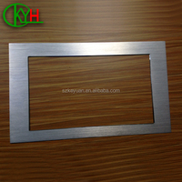 High quality brushed aluminum sheet metal components