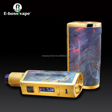 18650 battery big vaper 75W TC Box Mod in stock with fast shipping