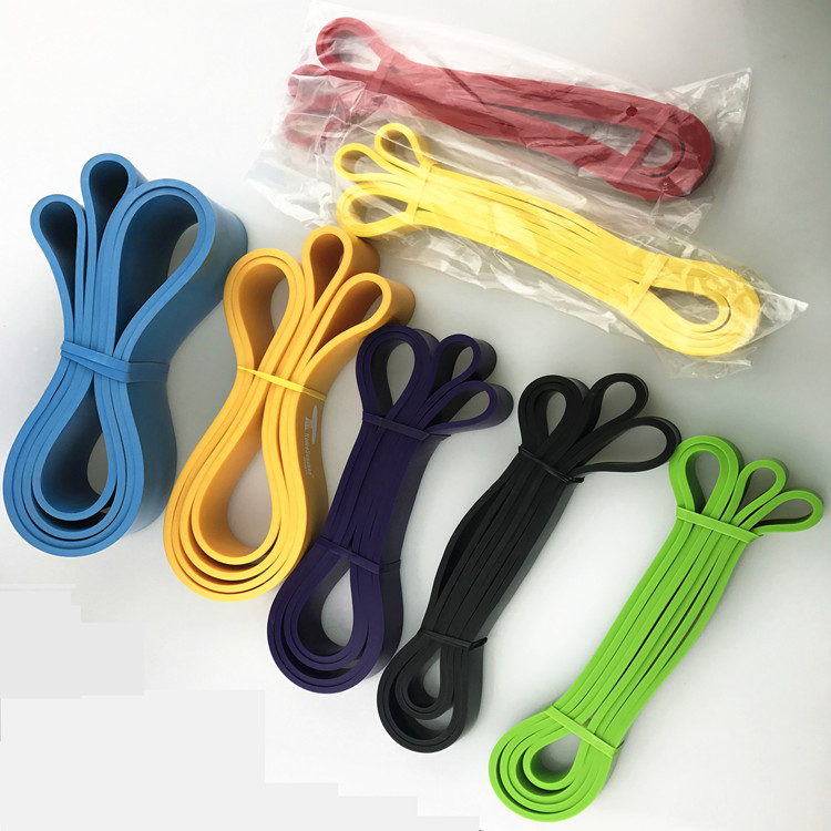 China factory 82 inch custom rubber latex resistance exercise bands