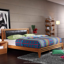 Chinese bamboo queen bed