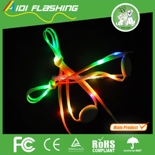 2012 Hot ! Super Brightness-light up shoelaces christmas gifts 6V led shoelace