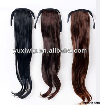 cheap price fast lead time ponytail hair extension for black women