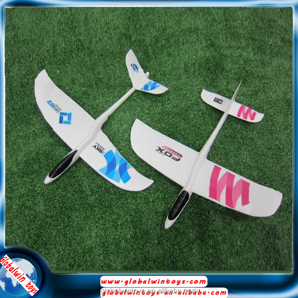 Easy for rc beginner t tail hand throwing airplane foam