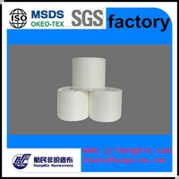 High quality spunlace nonwoven fabric viscose / polyester material for soft towel rolls