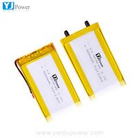 3.7v rechargeable battery prismatic soft pack battery 403048 3.7v 550mah li-polymer battery