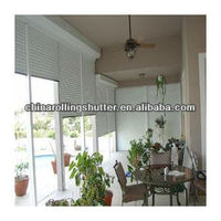 electric window/electric door shutters/residential window louvers