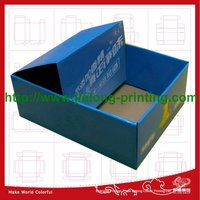 New creative design of folding cardboard box for clothing industry