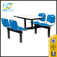 Fast food restaurant furniture table and chair for wholesale